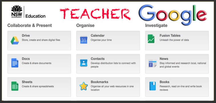 Link to Google suite for staff.