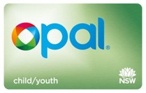 opal card for child/youth