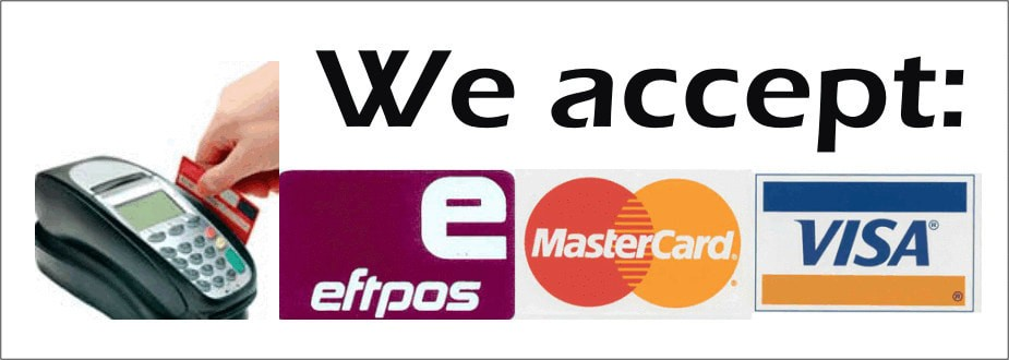 visa, eftpos and mastercard logos in one frame